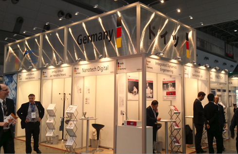 Semicon Japan 2017 –German Pavilion